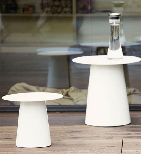 Design Beistelltisch Garten Alu Weiß  Im Greenbop Online