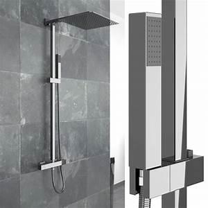 Duschpaneel Mit Thermostat : duschset duscharmatur handbrause thermostat real ~ Michelbontemps.com Haus und Dekorationen