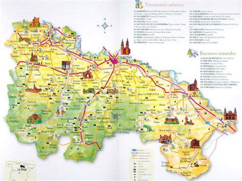 Carte De La Ville by La Rioja Carte De La Ville Carte Espagne Ville R 233 Gion