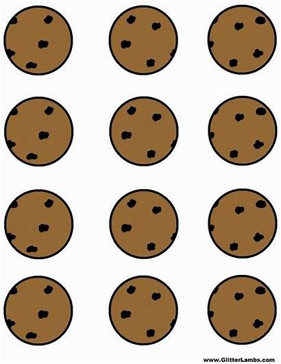 Cookie Monster Printable Cookies Chip Chocolate Template