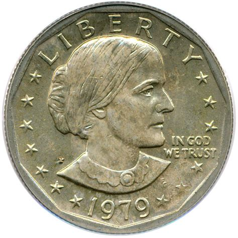 1979 susan b anthony dollar value 1979 p susan b anthony dollar susan b anthony 1 pcgs ms66 wide rim buy sell certified