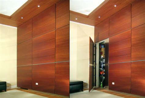 in the secret door secret door wall panel stashvault
