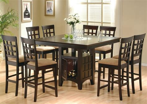 counter height dining room table sets 9 piece dining room set table counter height lazy susan ebay