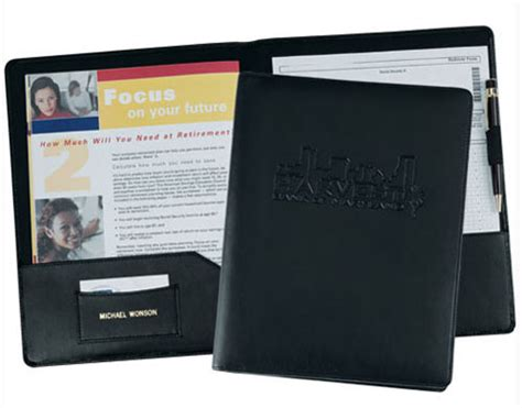 leather resume folder resume ideas