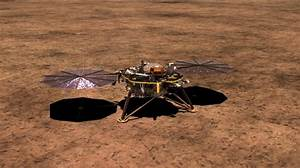 Space Images | InSight Lander with Solar Arrays Deployed