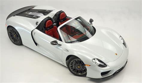 porsche 918 spyder white oryx white 2015 porsche 918 spyder for sale