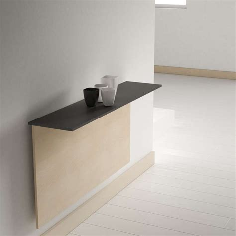 table de cuisine pliante murale table pliante murale contemporaine click 4 pieds