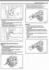 2007 Suzuki Forenza Serpentine Belt Diagram