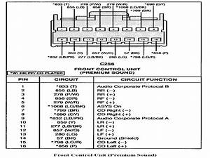 2008 Ford Taurus Radio Wiring Diagram