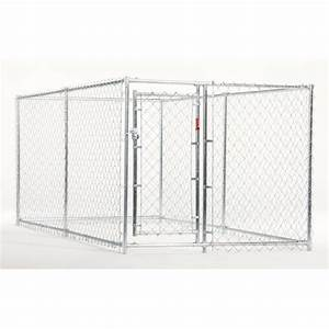 shop 10 ft x 5 ft x 4 ft outdoor dog kennel box kit at With 10 x 10 x 4 dog kennel