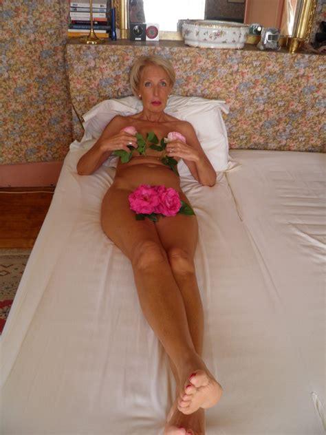 Francoise What An Elegant Slim Long Legged Granny