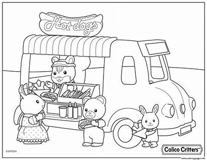 Coloring Critters Calico Pages Selling Dogs Printable