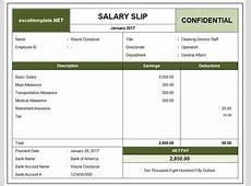Salary Slip – printable calendar templates