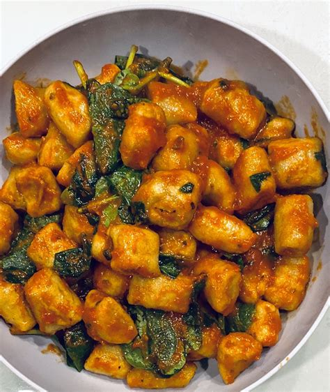 air fryer cauliflower gnocchi joe trader delicious crispy lift cook extremely copy cat easy