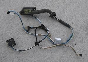 1998 Bmw 328 Driver Side Rear Door Wiring Harness E36 96