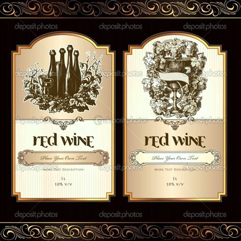 printable wine label templates template update