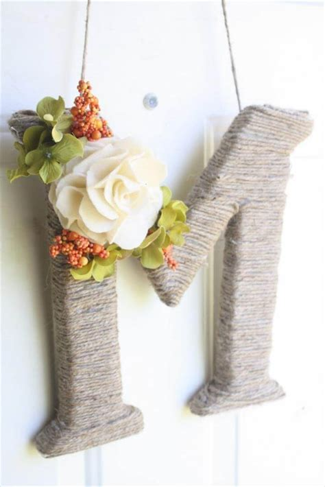 amazing home decor eye catching diy letters