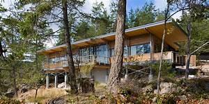 Magnifique Panorama Pour Cette Maison Bois Contemporaine