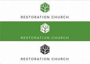 Restoration Church Logo Design on Behance