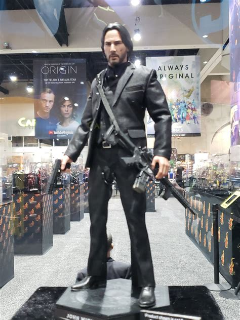 john wick sideshow toy images show   dressed killer