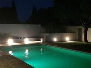 Eclairage Terrasse Piscine : eclairage piscine plage ~ Melissatoandfro.com Idées de Décoration