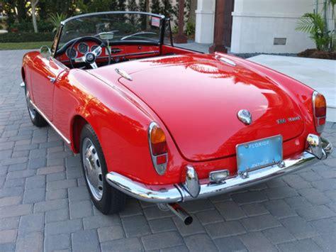 Alfa Romeo Restoration by Classic 1965 Alfa Romeo Giulia Spider Veloce One Of 1091