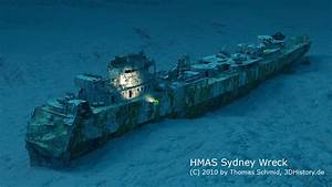 HMAS Sydney | 3DHISTORY.DE  Wreck