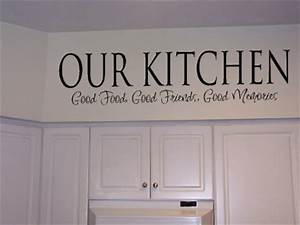 Xpresivdesigns vinyl wall lettering kitchen food quote for Kitchen wall sayings vinyl lettering