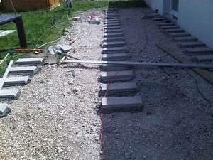 Pose Terrasse Bois Sur Gravier : terrasse bois sur gravier nos conseils ~ Premium-room.com Idées de Décoration