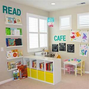 Entrancing Kids Playroom Ideas For Small Spaces Decorating ...