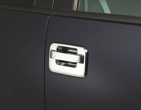 Auto Ventshade Chrome Door Handle Covers 685102 Ford F-150