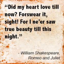 Love Quotes from Romeo and Juliet for the Hopeless ...