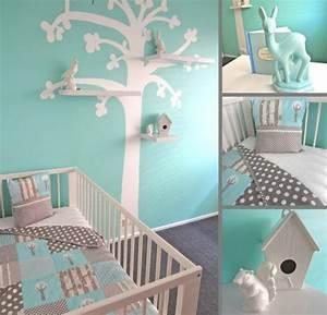 Ideen Für Kinderzimmer Wandgestaltung : babyzimmer gestalten 70 ideen f r geschlechtsneutrale deko ~ Lizthompson.info Haus und Dekorationen