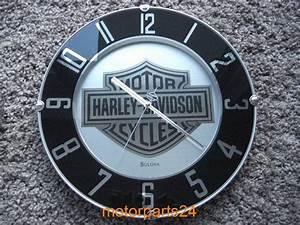 Harley Davidson Wanduhr : harley davidson bar shield wanduhr uhr mirrored 99365 10v ebay ~ Whattoseeinmadrid.com Haus und Dekorationen