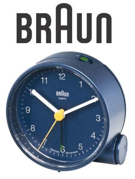 Braun Quarz Wecker by Braun 66005 Quarz Wecker Blau Crescendo Alarm Quarzwecker