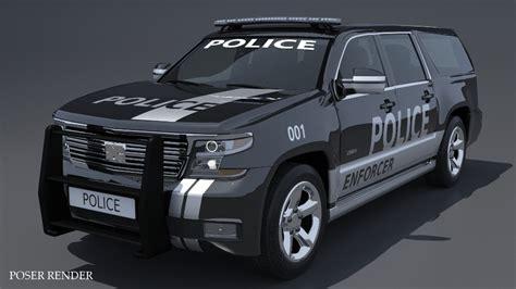 heavy police car  models truform