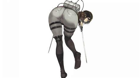 mikasa ackerman sexy anime girl attack titan
