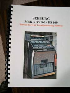 Seeburg Ds 160   Ds 100 Jukebox Manual
