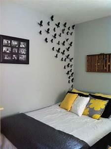Simple creative bedroom wall decoration ideas home
