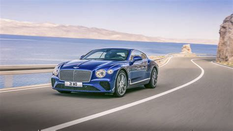 2018 Bentley Continental Gt Revealed, To Be Shown At 2017