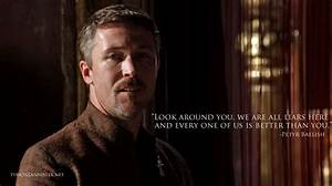 The Ten Best Petyr Baelish Quotes   TyrionLannister.net