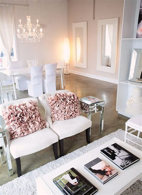 Blush And White Living Room  For The Home Pinterest