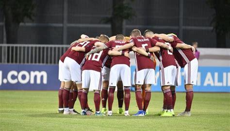Latvijas futbola izlase FIFA rangā pakāpjas uz 134. vietu ...