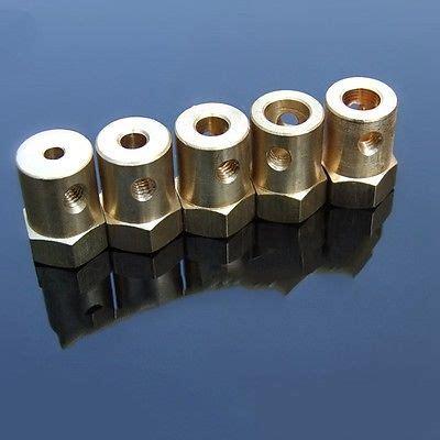 mm mm brass copper hex shaft coupling tire connector coupler  diy model