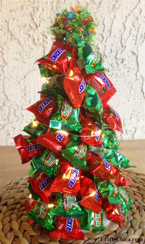 candy tree diy  lights  crafty chica