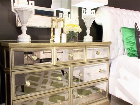 mirrored dresser ideas features cleanly mirrored drawers and twin white porcelain table l
