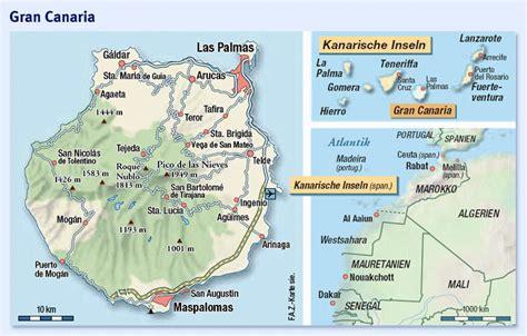 gran canaria landkarte spanien hanzeontwerpfabriek