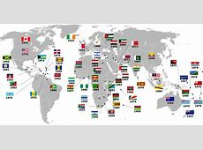 Countries that gained independence from the UK and the