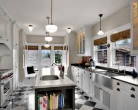 galley kitchen island galley kitchen island design kitchens