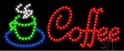Led Sign Coffee Animated Neon Signs
